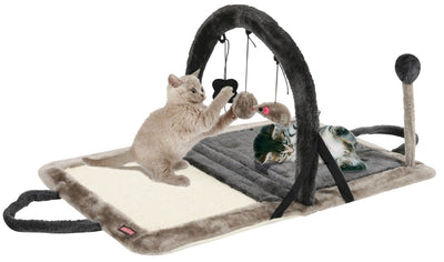 Zolux Fun Space Tapis d'Eveil pour Chat Gris - Beewik-Shop.com