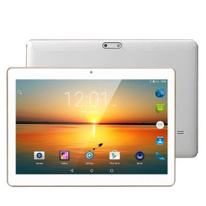 10.1 Inch 3G Tablet - Quad CoreCPU, Android OS, OTG,  2GB RAM Dual SIM, HD IPS Display, 5000mAh Battery, Google Play (white) - Beewik-Shop