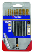 "TIVOLY 11453170001 - CLIPSTER A23 TECHNIC STEAM TIN Brocas METAL""TIN TIP"" ø 1-2-3-4-5-6-7-8-9-10 mm - Beewik-Shop.com"
