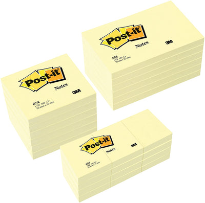 3M Notes Post-It 12000 feuilles (Import Allemagne) - Beewik-Shop.com