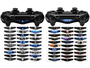 eXtremeRate® 30pcs / Set en Vinyle Réutilisable LED Light Bar Autocollant pour Auto Playstation 4 PS4 Slim Pro Controller - Beewik-Shop.com