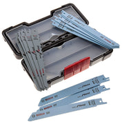 Bosch 2607010901 Set de 15 Lames de scie sauteuse wood and metal basic s 918 AF (5x)/ S 918 BF (5x)/ S 617 K (5x) - Beewik-Shop.com