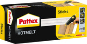Pattex 113913 Bâtons de colle à chaud 1 kg, Transparent, Set de 50 Pièces - Beewik-Shop.com