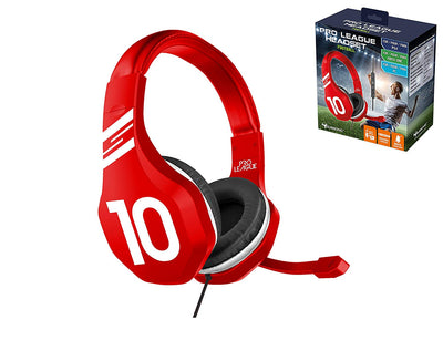 Casque Gaming avec micro pour PS4/Xbox One/PC - Gamer club Real Madrid - Beewik-Shop.com