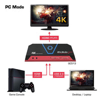 AverMedia Live Gamer Portable 2 Plus - 4K Pass Through, Enregistrez et Streamez vos gameplays en 1080p60, pour PS4 Pro, Xbox One X, Plug&Play, Faible latence avec et sans pc sur carte MicroSD - Beewik-Shop.com