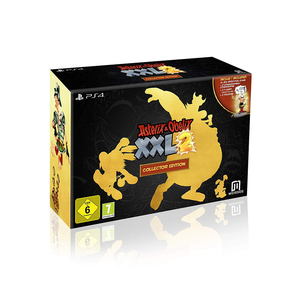 Asterix & Obelix XXL 2 Collector's Edition (PS4) - Beewik-Shop.com
