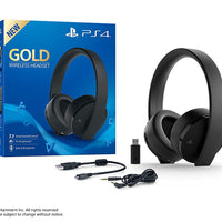 Cuffie wireless PS4 - Gold Edition - Beewik-Shop.com