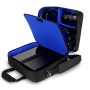 USA Gear Housse Sac de Console de Jeux, Sangle d'Epaule Ajustable & Compartiments Personnalisables - Compatible avec Xbox One, Xbox One X / S, Xbox 360, PlayStation 4 Pro, PlayStation 4, PlayStation 3 - Beewik-Shop.com