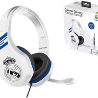 Cuffie da gioco con microfono per PS4 / Xbox One / PC - Gamer club Real Madrid - Beewik-Shop.com