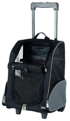 Trixie - 2880 - Valise de transport - Nylon - Noir - 36 x 50 x 27 cm - Beewik-Shop.com
