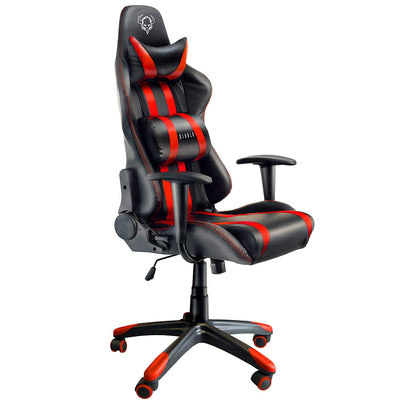 Diablo X-One Gaming Chaise mécanisme d'inclinaison Coussin Lombaire Simili-Cuir réglable en Hauteur sélection des Couleurs (Noir/Rouge), Plastique