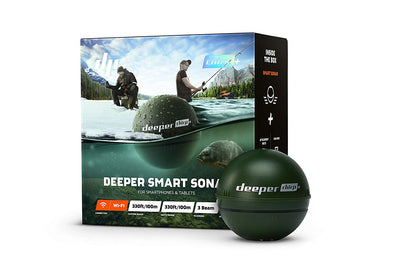 Deeper Chirp+ un Smart Sondeur Sac étanche, 6 cm, Military Green - Beewik-Shop.com