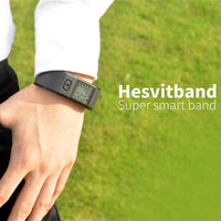 Hesvit S3 Fitness Tracker - Pedometer, Skin Humidity, Skin Temperature, Calories Burned, Distance, Sleep Monitor, Heart Rate - Beewik-Shop.com