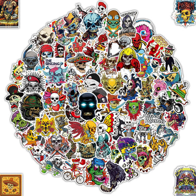 Lot Autocollant [150-PCS] Q-Window Graffiti Stickers Vinyle Enfants Autocollants pour Voiture Tuning Moto Ps4 Livre Vélo Iphone Scrapbooking Ordinateur Xbox One Bebe Valise Macbook Bumper Bomb Sticker - Beewik-Shop.com