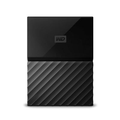 WD My Passport Disque Dur Portable pour Playstation 4 - Noir - 2 To - Beewik-Shop.com