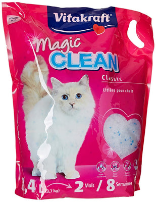 Vitakraft 15526 Litière Magic Clean 8 Semaines pour chat 8,4L - Beewik-Shop.com