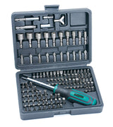 Mannesmann Bit and Socket Set (122 Pieces) by Br?der Mannesmann - Beewik-Shop.com