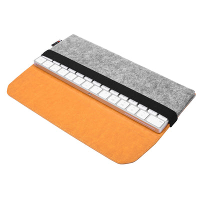 Etui de rangement en cuir PU en feutre pour Magic keyboard pad Apple - Beewik-Shop.com