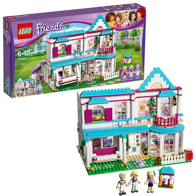 LEGO Friends - La maison de Stéphanie - 41314 - Jeu de Construction - Beewik-Shop.com