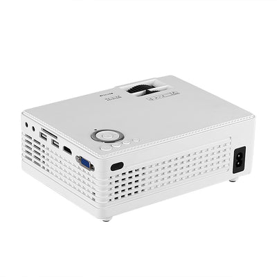 Xiange LCD Projector - 3.8 Inch LCD Imaging System, 200 Lumens, Keystone Correction, 80 To 130 Inches Image Size