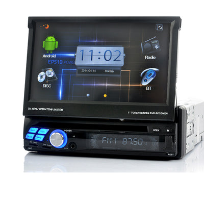 Universal Car DVD Player - One Din, 7 Inch Touch Screen, GPS, Wifi - Beewik-Shop.com