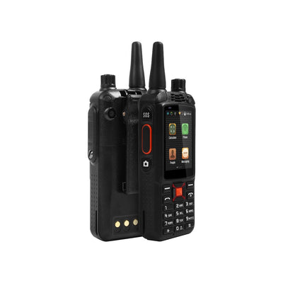 Walkie Talkie Phone ALPS F22 + Zello PTT, 3500mAh Batterie, écran tactile 2.4 pouces, Double caméra, Carte SIM double standard - Beewik-Shop.com