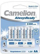 "Recargable ""Always Ready"" AA 2300mAh (4 pcs) Camelion - Beewik-Shop.com"