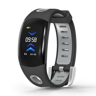 Fitness Tracker Bracelet-Gray- Heart Rate Monitor, Distance Counter, Pedometer, Blood Pressure, IP68.Waterproof - Beewik-Shop.com