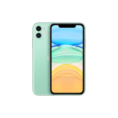 Apple iPhone 11 Dual 12MP Camera A13 Chip Smartphone LTE 4G Slow Selfie + European Gauge Adapter Green 128GB