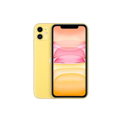 Smartphone Apple iPhone 11 Dual 12MP Camera A13 Chip Smartphone LTE 4G Slow Selfie Jaune 128GB