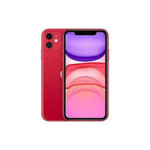 Smartphone Apple iPhone 11  Double Camera A13 Chip 4G + Slow Selfie Red 256GB - Beewik-Shop.com
