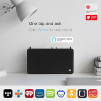 Exclusive GGMM App Wireless Intelligent WiFi + Bluetooth 4.0 Voice Control Speaker-black