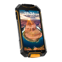 Geotel A1 Rugged Smartphone  - 4.5 Inch Display, IP67, Android 7.0, Quad-Core CPU, 8MP Camera, Dual-IMEI, 3400mAh (Orange) - Beewik-Shop.com