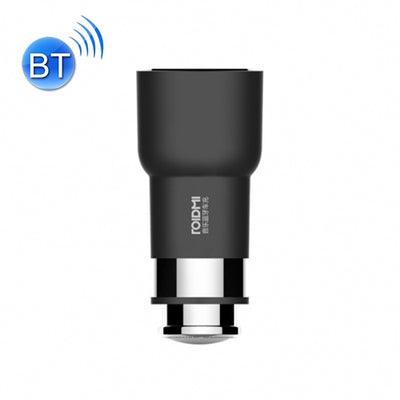 Original Xiaomi ROIDMI 2S 2 in 1 Multifunctional Wireless Bluetooth 3.8A Dual USB Port Car Charger + Music Player with Storage Battery Detection and Hands-free Call Functions for Cars & Pickups & SUV & Smartphones & Tablets & PSP & PDA & GPS & MP3 & MP4 a