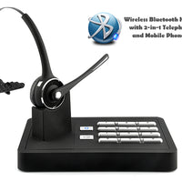 Handsfree Wireless Bluetooth Headset System (2-in-1 Telephone Landline and Mobile Phone Connection) - Beewik-Shop.com