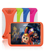 Android Tablet Computer  Orange– For Kids,7 Inch Display, HD Visuals, 3000mAh Battery, Sophisticated Hardware, WiFi (Orange) - Beewik-Shop.com