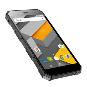 Robustes Android-Telefon NOMU S10 - Android 6.0, IP68, Quad-Core-CPU (schwarz) - Beewik-Shop.com