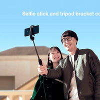 Xiaomi Selfie Stick - 360-Degree Rotation, 60mAh, Bluetooth 3.0 Remote Control, Aluminum Alloy, Anti-Slip, Tripod Mode (Grey) - Beewik-Shop.com