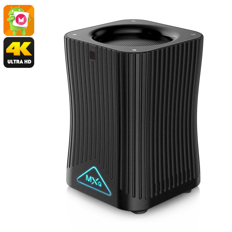 MXQ HF10 S905X TV Box - 4K Support, Android 6.0, Alexa Voice Control, Quad-Core CPU, 128GB SD Card Support, Google Play, DLNA - Beewik-Shop.com