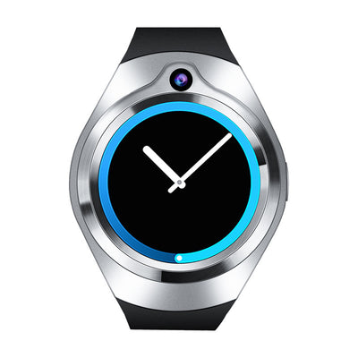 Android Smart Watch Phone- 5M Camera, Quad Core, GPS, Bluetooth, WiFi, 3G, 1.3 Inch Screen (Silver) - Beewik-Shop.com
