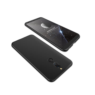 Pour HUAWEI MAIMANG 6/Mate 10 lite/Honor 9i(india)/Nova 2i Ultra Slim PC Back Cover Anti-chocs antidérapant 360 degrés Full Protective Case noir - Beewik-Shop.com