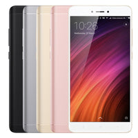 Xiaomi Redmi Note 4X Android Phone - Android 6.0, Deca-Core CPU, 4GB RAM, Dual-IMEI, 5.5-Inch Display, 4G, Dual-Band WiFi (Gold) - Beewik-Shop.com