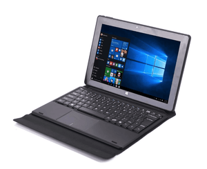 Tablet - dual operating system, Android 5.1,Windows10, quad-core CPU, 4GB memory, 10.1 inch display, wi-fi, keyboard