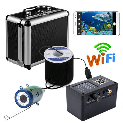 Wireless WIFI visible fishing device 30 meters mobile phone to watch 1000lines of high definition underwater fishing detector - Beewik-Shop.com