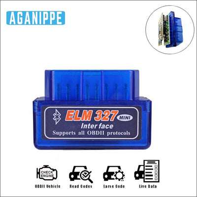 Double carte Pic18f25k80 Elm 327 Bluetooth 1.5 OBD2 Scanner outil de Diagnostic Auto OBD 2 Bluetooth Scanner de Diagnostic pour voiture - Beewik-Shop.com