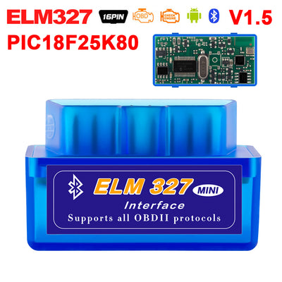 Super Mini Elm327 Bluetooth OBD2 V1.5 Elm 327 WIFI OBDII voiture outil de Diagnostic Scanner orme-327 OBD 2 adaptateur Auto Diagnostic-outil - Beewik-Shop.com