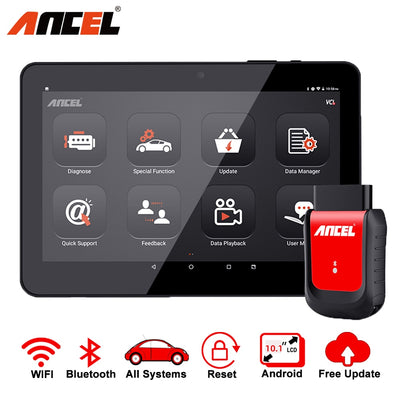 Outil de Diagnostic Ancel X6 OBD2 EPB DPF SAS ABS réinitialisation de l'huile OBD 2 Bluetooth Diagnostic de voiture professionnel OBD2 Scanner automobile ODB - Beewik-Shop.com