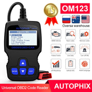 Autophix OM123 OBD2 Scanner voiture outil de Diagnostic OBD 2 Scanner automobile ODB lecteur de Code PK ELM327 1.5 CR3001 - Beewik-Shop.com