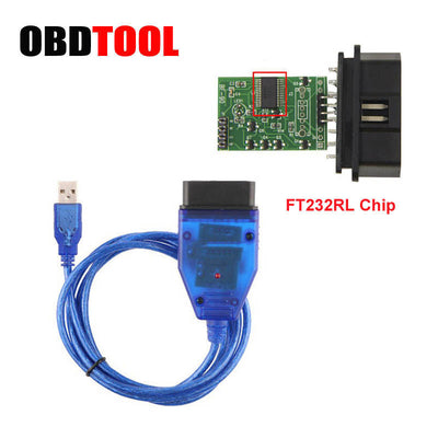 2019 chaud FT232RL CH340 puce VAG USB câble VAG Diagnostic USB Interface OBD2 OBDII Auto Scan OBD cordon pour AD pour VAG série - Beewik-Shop.com