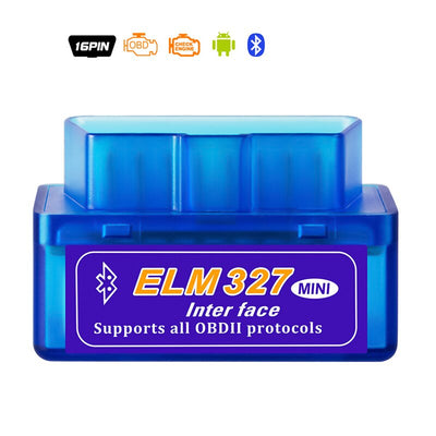 Interface Bluetooth 2.0 Mini ELM327 V2.1 OBD2 OBD 2 outil de Diagnostic automatique ELM 327 fonctionne sur adaptateur Android couple/PC v 2.1 BT - Beewik-Shop.com